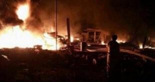 سلسلة إنفجارات عنيفة تهز العاصمة اليمنية عدن