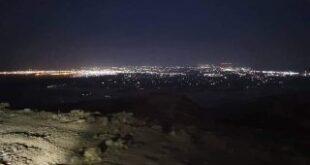 ورد الآن | الحوثيون ينشرون صوره ليلية لمدينة مأرب التقطوها من مسافة صفر ( صور )