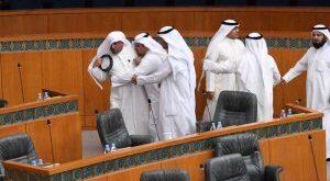 شاهد | عراك في مجلس الأمة الكويتي
