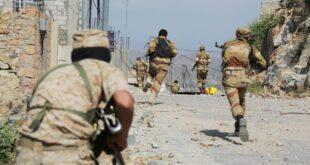 وردنا الآن | معارك عنيفة في جبهات تعز وسقوط عشرات القتلى والجرحى وانقلاب سير المعارك لصالح الحوثيين بشكل مفاجئ ؟