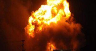 يوم الحوادث.. في مشهد مفاجئ سعودية تصدم محطة وقود بجدة