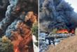 مشهد صادم.. تفحم مئات السيارات في سلطنة عمان وتحولها إلى رماد (فيديو)