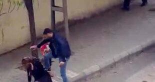 جريمة مروعة في تركيا.. رجل يطعن زوجته في الشارع وسط ذهول المارة (فيديو)